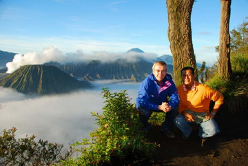Visit scenic volcano in Indonesia Bromo on 2700 m above sea level only with JAVASOLTOUR
